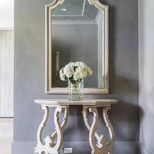 Half Moon Console Table Ivory French Half Moon Console Table Design Ideas