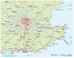 England Map Cities by Getting Here The Brighton Centre