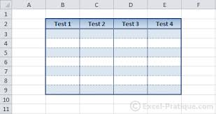colour themes for excel excel course tables colors styles