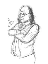 benjamin franklin sketch by tharangus on deviantart