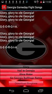 Georgia travel songs images Georgia bulldogs ringtones android apps on google play