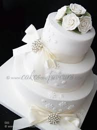3 Tier Wedding Cake 3 Tier White Wedding Cake Classical 3 Tier Stacked Wedding U2026 Flickr