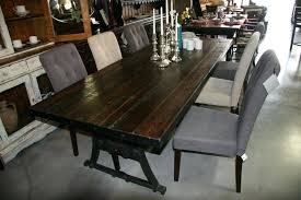 reclaimed wood table with metal legs modern reclaimed wood dining table tingz me