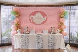 Tea Party Decorations For Adults Kara U0027s Party Ideas Romantic Tea Party Planning Ideas Supplies Idea