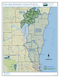 Green Lake Wisconsin Map by Conservation Funding Focuses On Lake Michigan And Lower Fox River