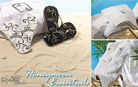 honeymoon gifts gifts for the honeymoon and the newlyweds home