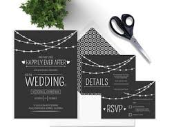 diy wedding invitations templates wedding invitation template etsy