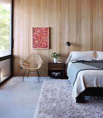 wood paneling modern unfinished wood paneling in the modern bedroom apartment therapy