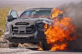 Ford F250 Concept Truck - 2016 ford f series super duty prototype burning youtube
