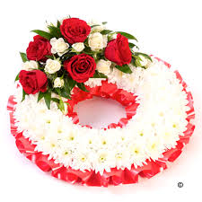 funeral wreaths funeral wreaths traditional funeral isle of wight flowers