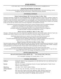 Support Technician Resume Confortable Network Technician Resume On Ideas Of Network Support