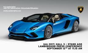 Lamborghini Aventador Msrp - new lamborghini aventador s roadster top speed of 350 km h