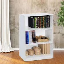 White Wood Bookcases White Bookcases Home Office Furniture The Home Depot