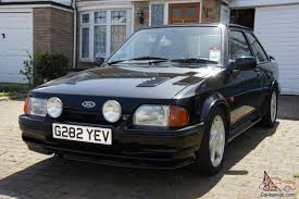 90 Ford Escort 90 Spec Ford Escort Rs Turbo S2