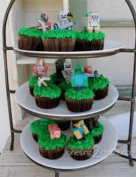 minecraft cupcakes minecraft birthday party jonesing2create