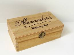 customized keepsake box best 25 wooden memory box ideas on painted wooden