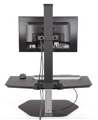 Stand Sit Desk by Innovative Winston Wstn 1 Fs Adjustable Sit Stand Workstation