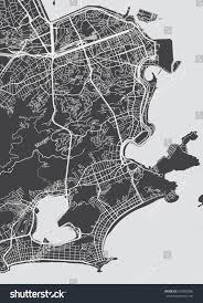 Rio On World Map Vector Detailed Map Rio De Janeiro Stock Vector 537909280