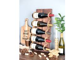 Diy Wood Wine Rack Plans by Wine Rack 19 Creative Diy Wine Rack Ideas Reclaimed Wood Wine