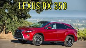 lexus rx 350 interior dimensions 2017 lexus rx 350 us spec interior exterior and driving youtube