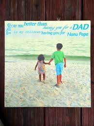 step fathers day gifts turtlecraftygirl s day gift diy canvas picture