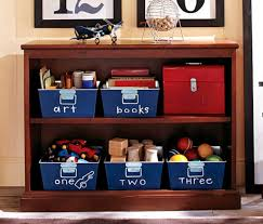 Pottery Barn Kids Books Contemporary Bookcase Wooden On Casters Thomas Pottery
