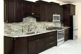 assembled kitchen cabinets wholesale dark wood ikea assemble