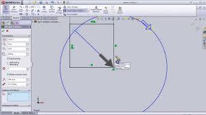 edit sketch pattern in solidworks 14 solidworks sketch tutorial circular sketch pattern youtube