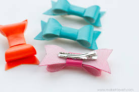bows for hair diy vinyl hair bows for back to school make it and it