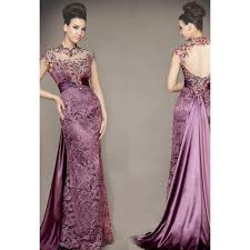 wedding dressing gowns 80 vintage venice purple lace wedding dress stretch satin inner