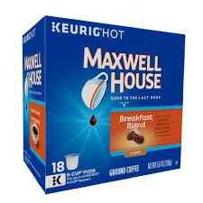 maxwell house french roast coffee k cup packs 18 ct walmart com