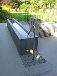 modern water features concrete water feature google search williamson pinterest