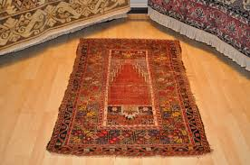 Christmas Rug Antiques Gifts 3x5 Ft Antique Turkish Prayer Rug Med 19th