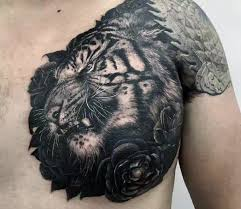 50 chest cover up tattoos for men upper body design ideas