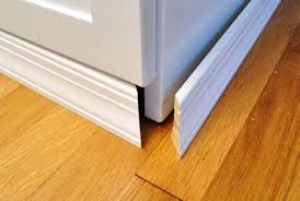 kitchen cabinet base molding adding molding to cabinets to make them look built in baseboard