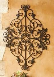 Breathtaking Large Wrought Iron Wall Decor Metal Wall Flower Art Foter