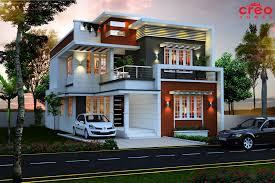 Single Floor Home Front Design Flat Roof Single Floor Home With Stair Room Kerala Design In