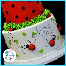 ladybug birthday cake ladybug 1st birthday cake blue sheep bake shop
