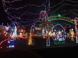 Christmas Lights Picture Of Charlotte Motor Speedway Concord