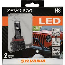 Led Fog Light Bulbs Any Good by Amazon Com Sylvania Zevo H8 Led Fog Light Bulbs Contains 2