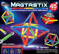 cra z art magtastix with rods and balls building set 45 pieces