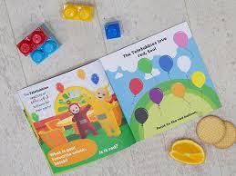 teletubbies personalised children u0027s book egmont publishing uk