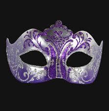 purple masquerade mask colombina stella silver purple masquerades masking and