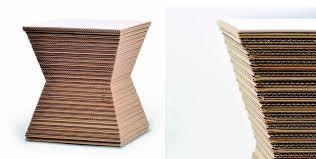 arredo in cartone mobili in cartone una nuova strada per il riciclo della carta
