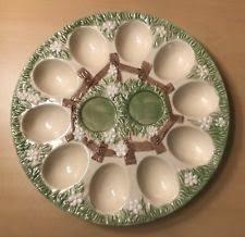 ceramic deviled egg platter ceramic deviled egg tray ebay
