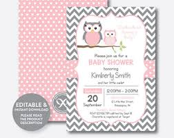 baby shower owls owl baby shower etsy