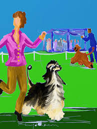 afghan hound national dog show afghan paintings page 6 of 10 fine art america