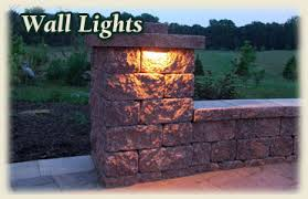 Patio Wall Lighting Lighting For Your Driveway Or Patio Paver Lighting