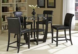 glass pub table and chairs glass pub table incredible set sierra top intended for 7