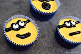 minion cupcakes minion apple cakes as the bunny hops